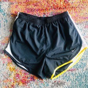 Nike Tempo black white & yellow Livestrong Shorts